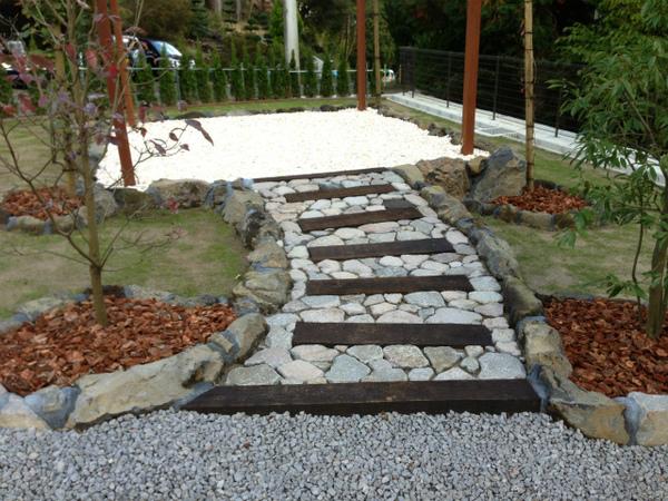 バークレーの庭イチオシのアプローチです!!