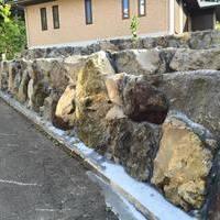 迫力の石積みのサムネイル