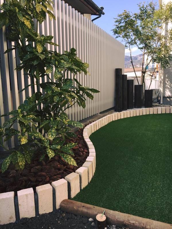 ちょっとした空間の庭づくりのサムネイル