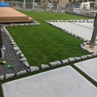 お庭の芝貼りのサムネイル
